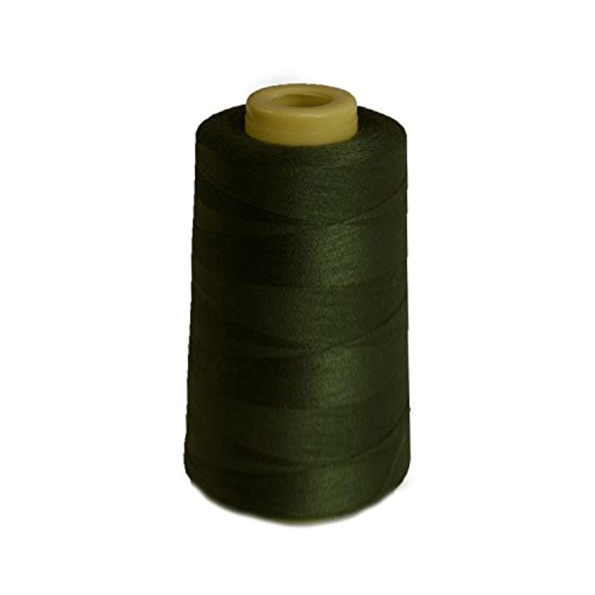 6000 Yards Olive Sewing Thread All Purpose 100% Spun Polyester Spools Overlock Cone (Upholstery, Canvas, Drapery, Beading, Quilting)