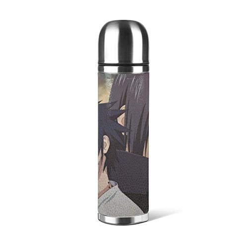 donghu Anime Stainl botella de agua de acero con doble pared aislada al vacío prueba diseño deportivo, coche portátil viaje té C