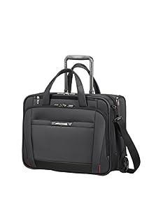 "Samsonite PRO-DLX 5 - Rolling Tote for 15.6"" Laptop 3.1 KG Bolso de viaje, 46 cm, 34.5 liters, Negro (Black) (B07DLX9PKV) | Amazon price tracker / tracking, Amazon price history charts, Amazon price watches, Amazon price drop alerts"