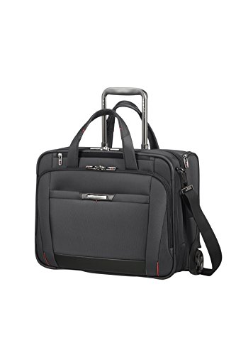 SAMSONITE PRO-DLX 5 - Rolling Tote for 15.6' Laptop - 3.1 KG Reise-Henkeltasche, Magnetic Grey