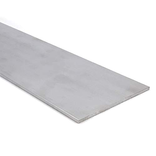 """Aluminum Flat Bar, 1/8"""" x 3"""", 6061 General-Purpose Plate, 36"""" Length, T6511 Mill Stock, Extruded, 0.125"""" Thick"""