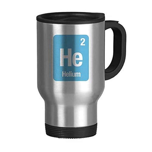 DIYthinker Elemento él Helio química Ciencia Viaje de Acero Inoxidable Jarra de Cerveza Tazas con Asas 13oz Regalo