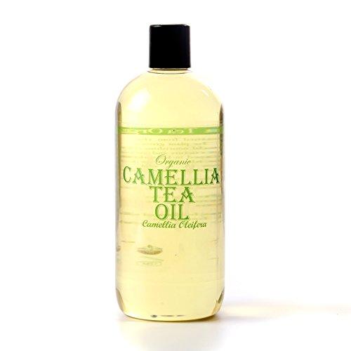 Mystic Moments Camellia tè Organico Corriere Olio - 500ml - 100% Puro