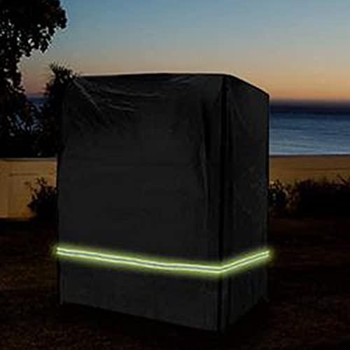RYKJ-F Funda para Silla de Columpio al Aire Libre, Funda Protectora para Silla de Playa Tejido Oxford 210D a Prueba de rasgaduras Resistente a los Rayos UV y al Agua con Brillo Verde