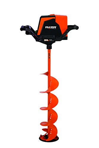 RAZR 24V Lithium Ice Auger with Reverse - 8'