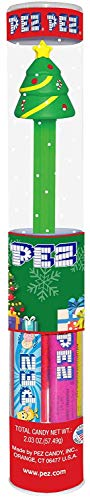Pez Christmas Tree Tube
