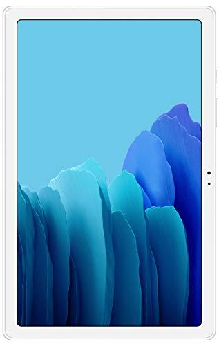 Samsung Galaxy Tab A7 26.31 cm (10.4 inch), Slim Metal Body, Quad Speakers with Dolby Atmos, RAM 3GB, ROM 64 GB Expandable, Wi-Fi-only, Silver