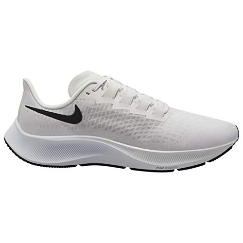 Nike Air Zoom Pegasus 37 Running Mens Shoe, Platinum Tint/Black-Wolf Grey, 11 US