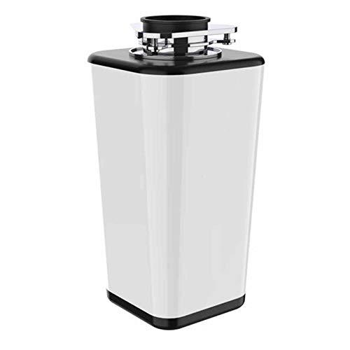 XLSQW Smaltimento rifiuti per lavello da Cucina Cibo 800W Dissipatore di rifiuti Alimentazione Continua Componenti di macinazione in Acciaio Inossidabile Interruttore Wireless 4000 RPM,Bianca