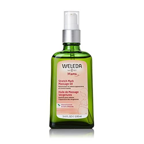 Weleda Pregnancy Body Oil for Stretch Marks, 3.4 Fluid Ounce, Clear