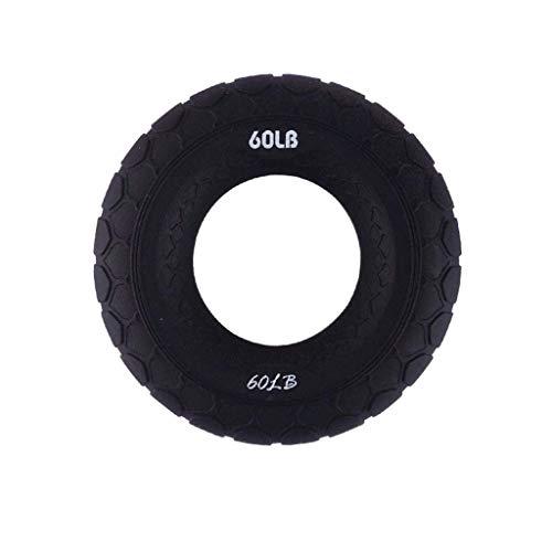 ZZSJC Grip portátil de Anillo, apretón de la Mano fortalecedor, Resistencia Mano Ejercicio Pinza, Dedo Formación ejercitador, Dedo Formación Rehabilitación (Color : Black)
