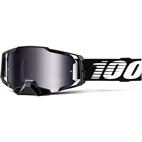 100% 50710-001-02 Mixte Masque de Ski Noir Taille Unique