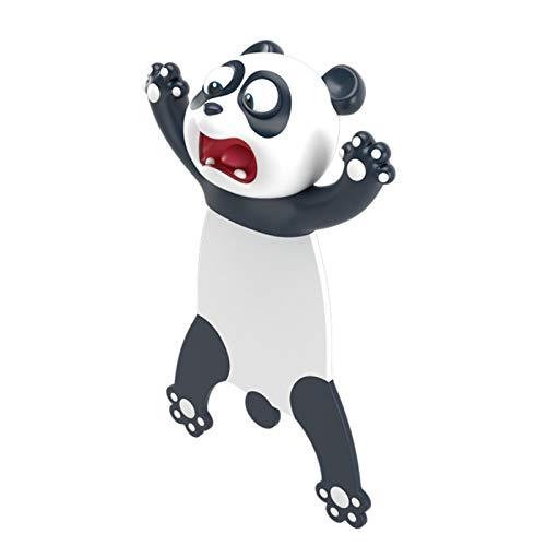 3D Cartoon Tier-Lesezeichen,bookmark animal,lesezeichen kinder,lesezeichen magnetisch,3D Stereo Cartoon schön Tier Lesezeichen Geschenk für Kinder und Erwachsene (H)
