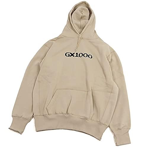 GX1000 ジーエックスセン パーカー プルオーバー メンズ ストリート スケボー OG LOGO HOOD SWEAT L オートミール Oatmeal [並行輸入品]