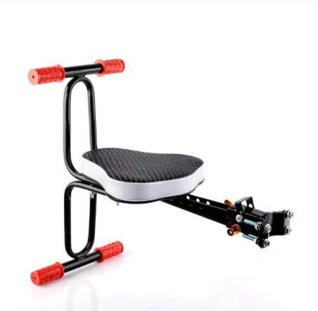 Voolok Fahrrad-Kindersitz vorne, aus ungiftigem Material rutschfeste Armlehne Pedal Design Verdicktes, verbreitertes Kissen Komfortabler, langlebiger, sicherer Gebrauch
