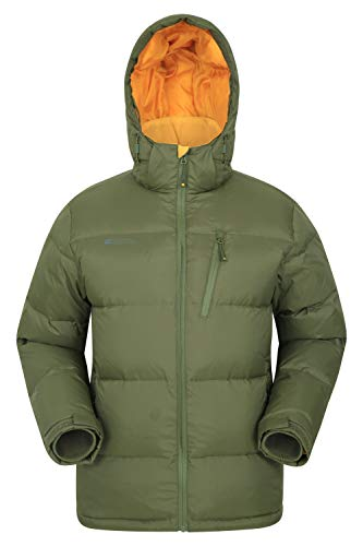 Mountain Warehouse Frost Extreme Hombres Abajo Chaqueta Acolchada Caqui S
