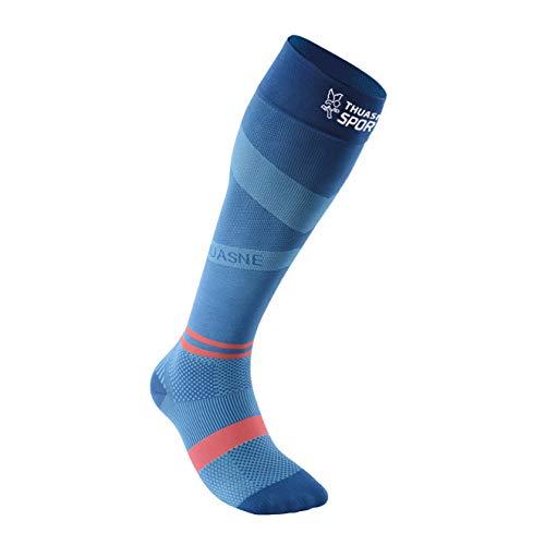 Thuasne Sport - Hohe Socken UP ACTIV S Normale 35-38 Schwarz