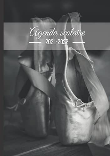 Agenda Scolaire Danse Classique: Format A5 Agenda Journalier Quotidien en Français Noir et Blanc   Fille Garçon College Lycee Etudiant Primaire