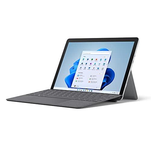 Microsoft Surface Go 3 - Portátil 2 en 1 de 10.5 pulgadas Full HD, Wifi, 10th Gen Intel Core i3-10100Y, 8 GB RAM, 128 GB SSD, Windows 11 Home, Platino