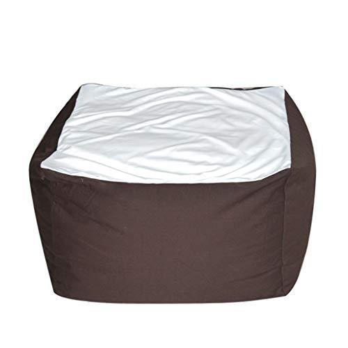 Comfortabele katoenen zitzak, sofa, creatieve slaapkamer, zonder been, sofakussen, met tas, sofa-afdekking, multifunctionele lounge, keuze uit 4 kleuren