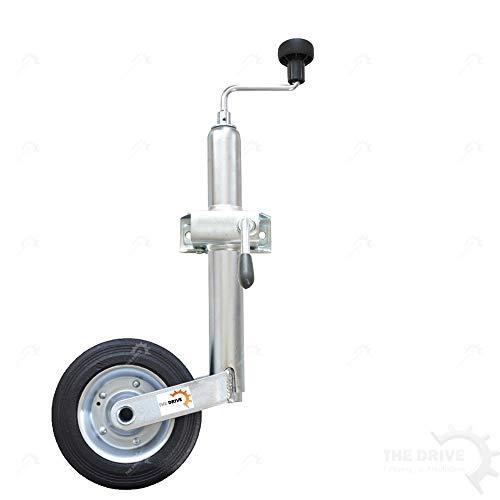 The Drive -14943-001- Anhänger Stützrad mit Stahlfelge und Klemmhalter