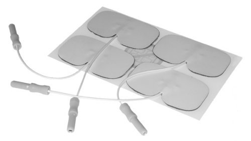 Medisana TENS TDP - Electroestimulador digital, color blanco y gris