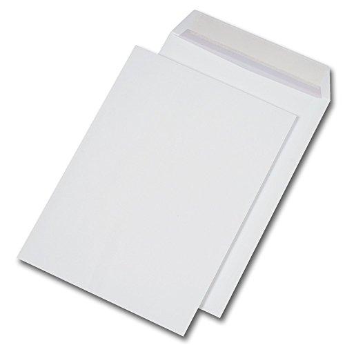 250 Versandtaschen C4 229 x 324 mm, haftklebend, ohne Fenster, 90g/qm