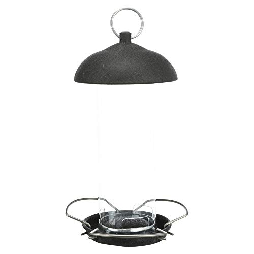 TRIXIE - Mangeoire extérieure en métal et Plastique 20 cm - TR-55418