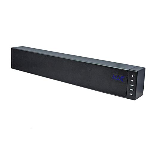 Sound Bars, Soundbar Wired en Wireless Audio met Dual DSP processing System, ondersteuning Bluetooth 4.1, lijn, optical, vezel, coaxiaal, TF-kaartingang