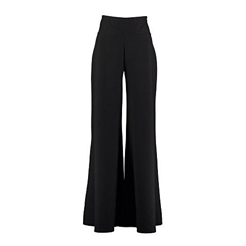 Black Dress Code Damen Hose Schwarz schwarz, Schwarz - schwarz - Größe: 46