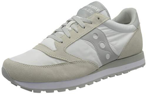 SAUCONY scarpe sneaker uomo JAZZ ORIGINAL S2044-396 bianco grigio 43