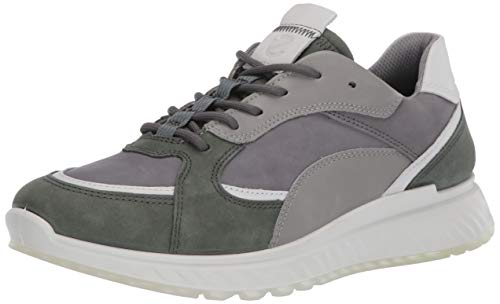 Ecco Herren ST.1M Sneaker, Grau (Lake/White/Titanium/Wild Dove 51864), 40 EU