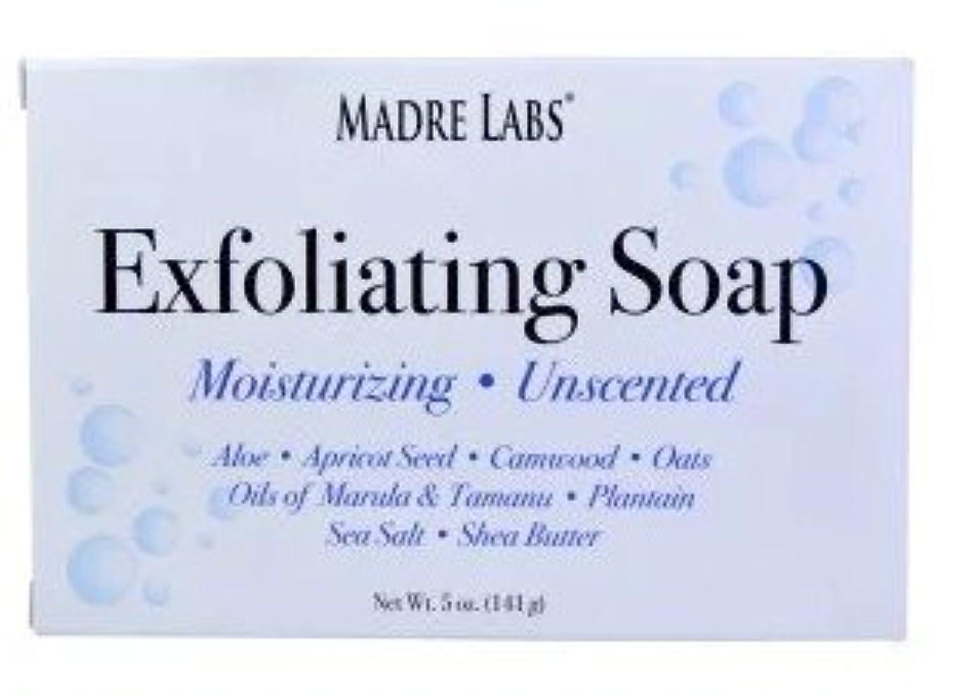 プロトタイプヶ月目ライムマドレラブ シアバター入り石鹸 Madre Labs Exfoliating Soap Bar with Marula & Tamanu Oils plus Shea Butter [並行輸入品]