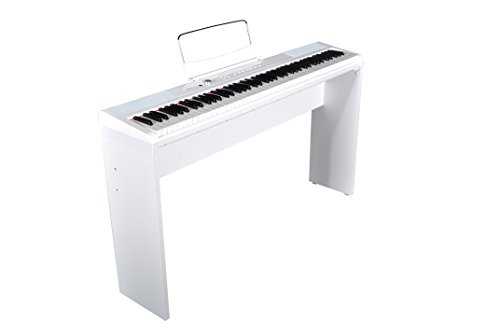Artesia PA-88WHITE Piano Numérique, 88 Touches, Blanc