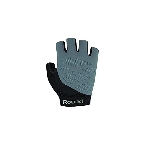 Roeckl Iton Fahrrad Handschuhe kurz grau/schwarz 2021: Größe: 10.5