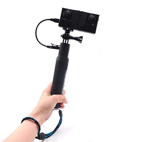Linghuang Selfie-Stick monopod met telefoonhouder en oplader voor actiecamera Insta 360 One X/DJI OSMO