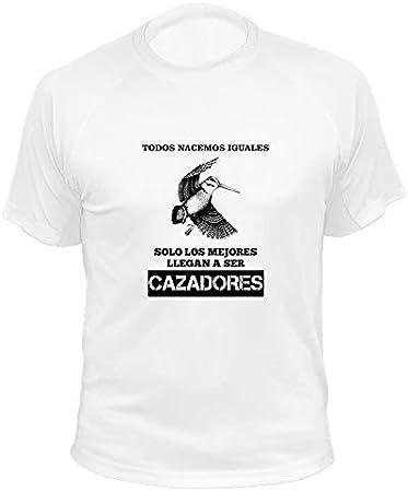 Ideas Regalos AtooDog Camisetas Personalizadas de Caza Ciervo Todos nacemos Iguales