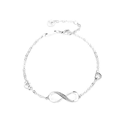Emily Mode-Armband für Damen, Diamant, einfach, Strass, analog, mit Armband