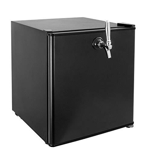 Kegco 17' Wide Draft Beer Single Tap Black Commercial/Residential Mini Kegerator