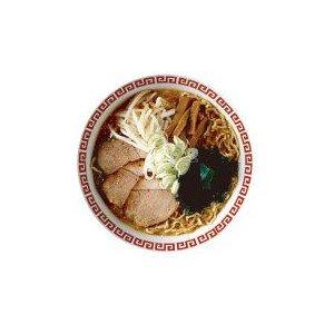 CBFO-010 醤油ラーメン フード缶バッジ FAVORITE FOOD EDITION (M)