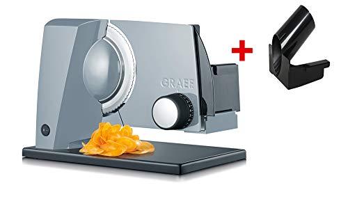 Graef S 11050Electric 170W Metal Black, Grey Slicer–Slicers (Metal, Black, Grey, 343mm, 237mm, 252mm, 2.33KG)