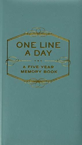 The one line a day journal is a thoughtful gift for moms who think they don't want any gifts
