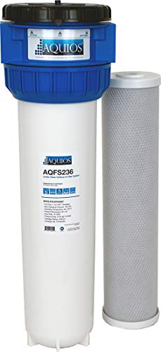 Aquios Jumbo Full House Water Softener and Filter System