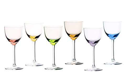 Sèvres de Cristal Turckeim-Coffret Cadeau de 6 Verres à Liqueur