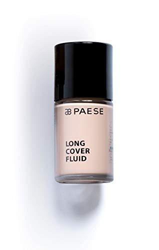 Paese Cosmetics 00 Porcelain Long Cover Fluid Foundation, 30ml