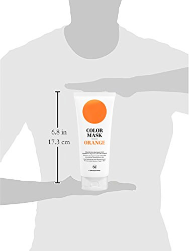 Color Mask Orange Reconstructive Treatment - Toning Conditioner for Orange and Bright Copper Color Treated Hair - Orange…