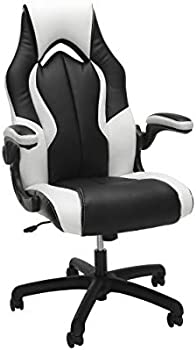 OFM Essentials Collection High-Back Racing Style Leather Gaming Chair