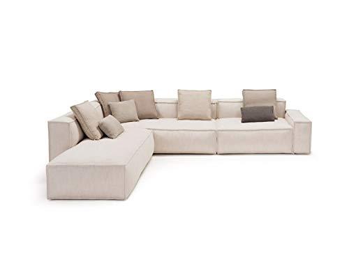 Amura Davis DAVIS021.213.022 - Sofá modular de tela
