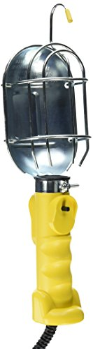 Bayco SL-425A Incandescent Work Light w/Metal Guard & Single Outlet