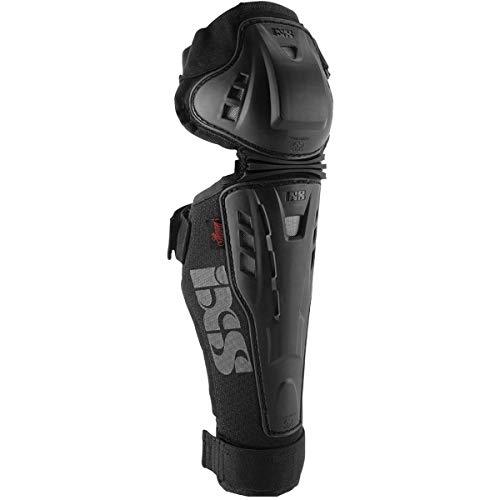 IXS Hammer Knee/Shin Guard Knieschützer MTB/BMX Unisex Erwachsene, Schwarz, KM